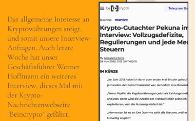 Interview mit BeInCrypto
